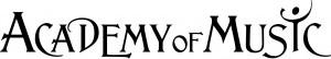 Academy of Music Logo Black